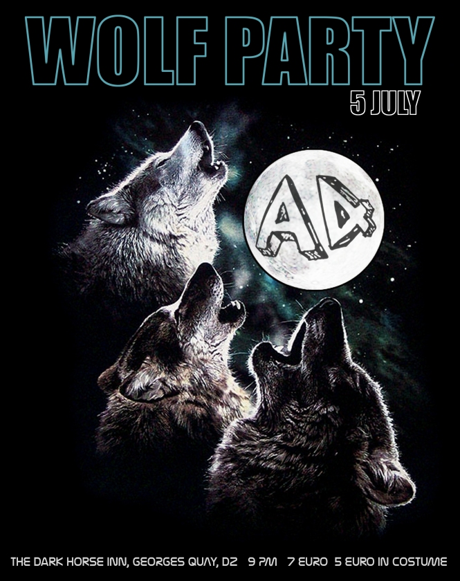 WOLF PARTY PART POSTER
